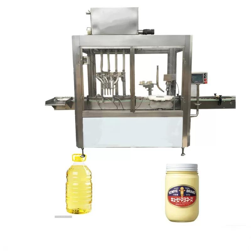220V 1.5kw Olive Oil Filling Machine