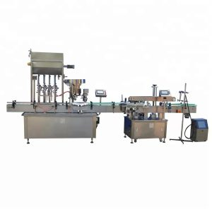 304 Stainless Steel Essential Oil Filling Machine