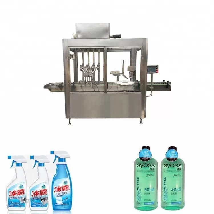 304 Stainless Steel Plastic Bottle Filling And Capping Machine