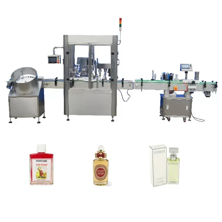 316 Stainless Steel Square Perfume Filling Machine