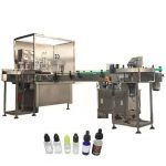 3kw Automatic Electronic Liquid Filling Machine For Amber Dropper Bottle 10ml / 30ml
