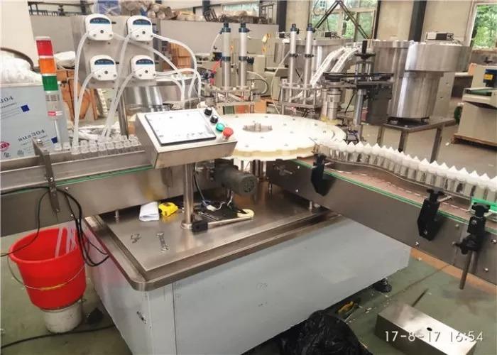 3kw Automatic Electronic Liquid Filling Machine
