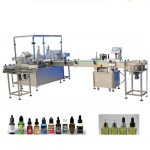 4 Filling Nozzles Essential Oil Filling Machine PLC Control System Founded
