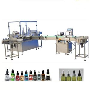 4 Filling Nozzles Essential Oil Filling Machine