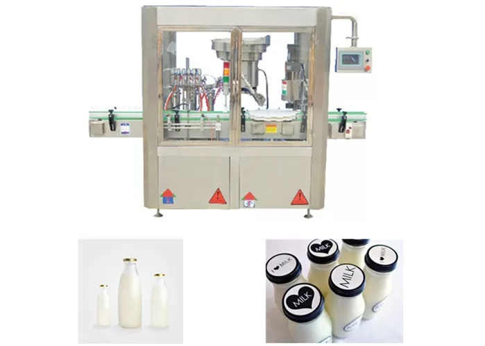 4 Heads Bottling Capping Machine