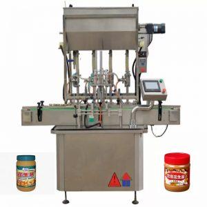 4 Nozzles Honey Bottle Filling Machines