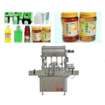 750 Kg 5 KW Sauce Paste Bottle Filling Machine With Touch Screen Display