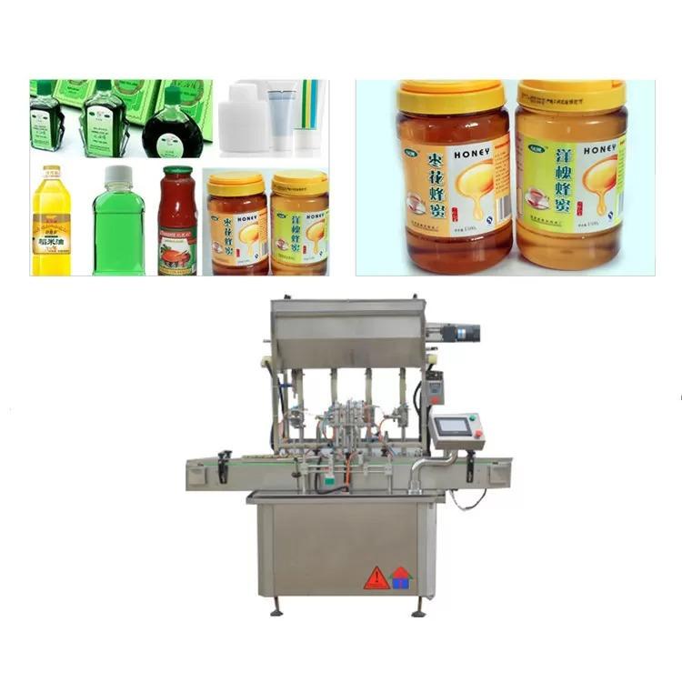750 Kg 5 KW Sauce Paste Bottle Filling Machine