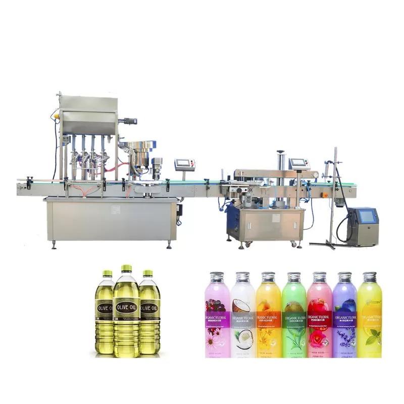 AC220V 50Hz Automatic Paste Filling Machine