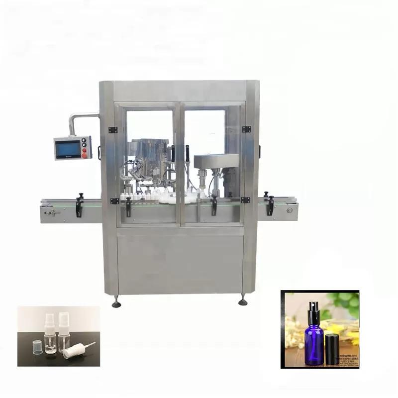 Aluminium Vial Spray Bottle Filling Machine