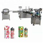 5-35 bottles/min Automatic Liquid Filling Machine For 10ml / 30ml Glass Bottle Dropper
