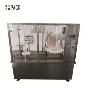 peristaltic pump essential oil drop bottle filling plugging capping machine