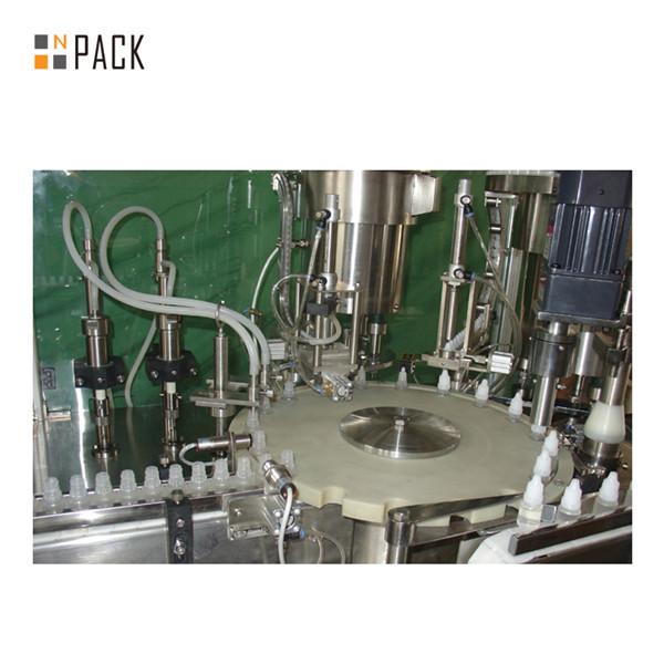 5-30ml Automatic Glass Dropper E Liquid Filling Machine