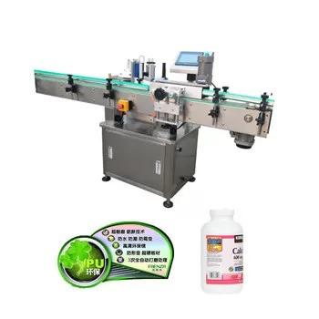 Automatic Vertical Plastic Glass Bottle Labeling Machine