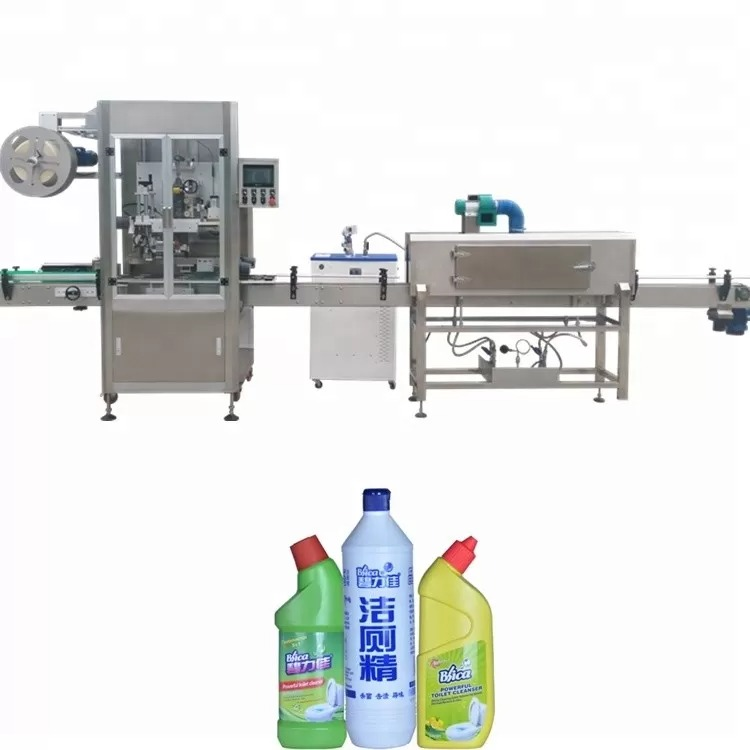 Bottle Labeling Machine Used For Round Bottle PLC Control