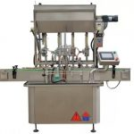 GMP / CE Standard Sauce Paste Bottle Filling Machine Used In Pharmaceuticals Industries