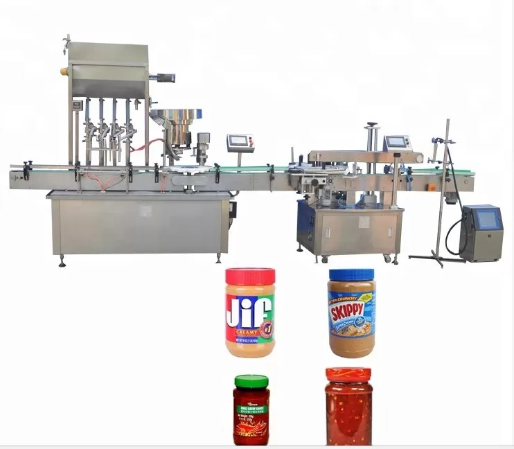 Color Touch Screen Bottle Capping Machine