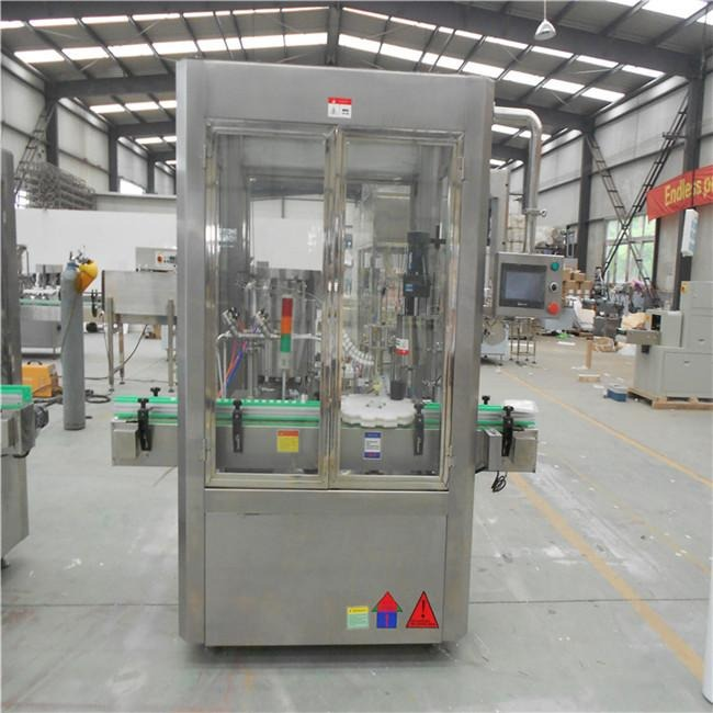 Cosmetic Filling Machine Color Touch Screen Founded