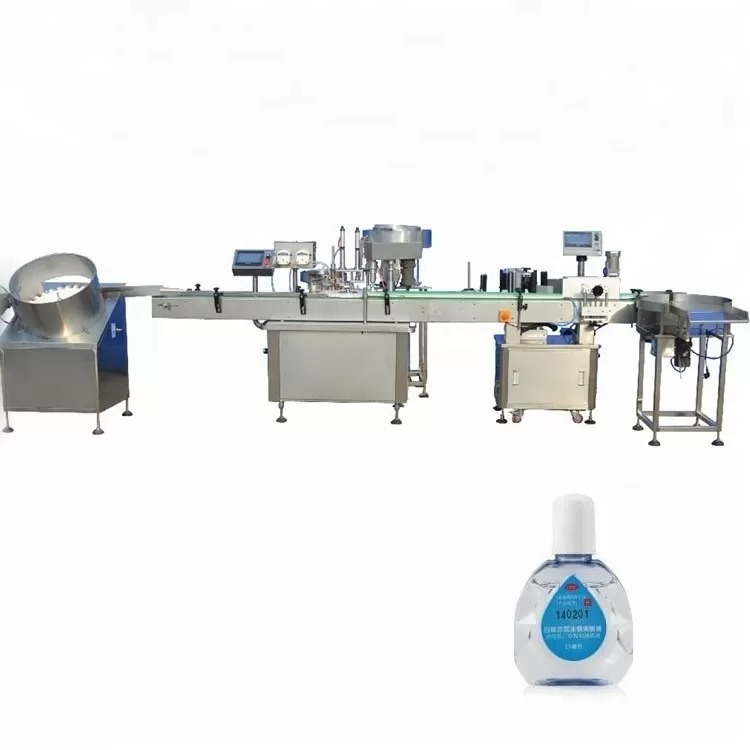 Dropper Bottle Filling Machine With Two Filling Heads