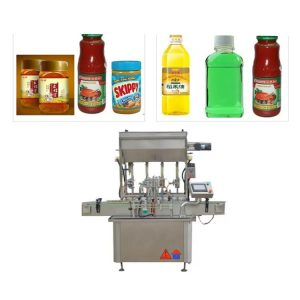 Four Nozzles Ketchup Filling Machine