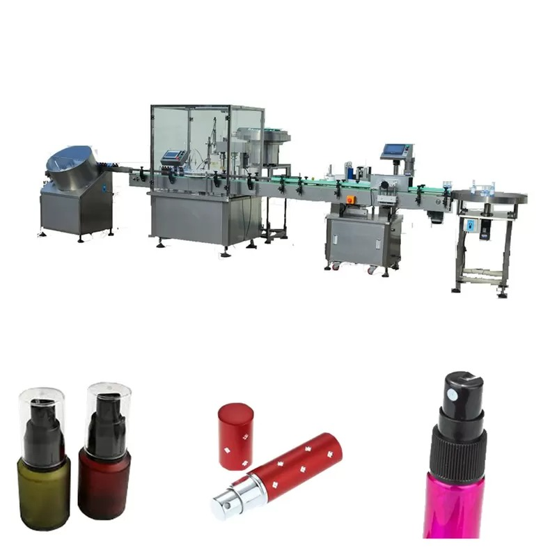 Full Automatic Essential Oil Filling Machine