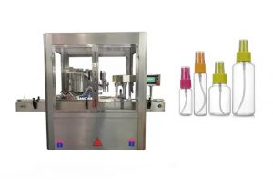 Fully Automatic Perfume Filling Machine Color Touch Screen