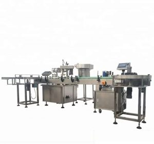 High Capacity Automatic Bottle Filling And Capping Machine