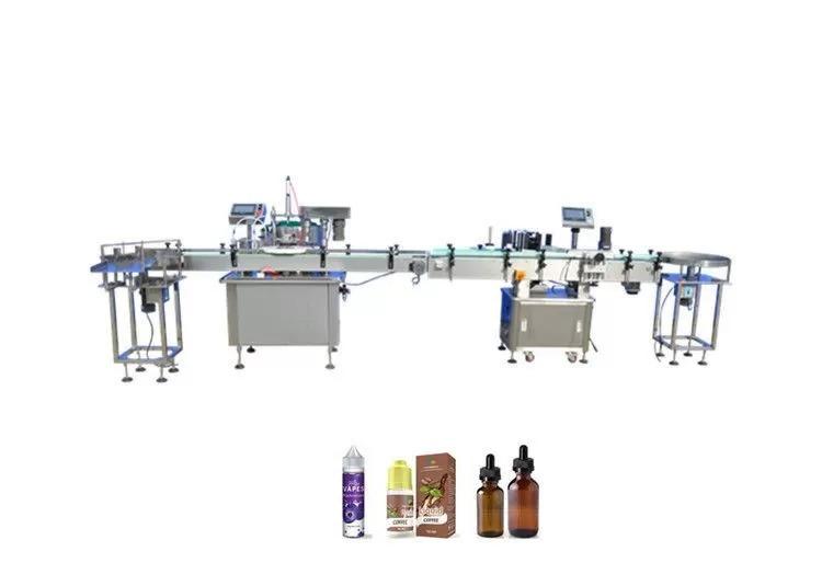 High Density Cigarette Oil Bottle Filling Machine
