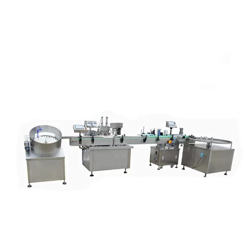 High Speed E-liquid Filling Machine
