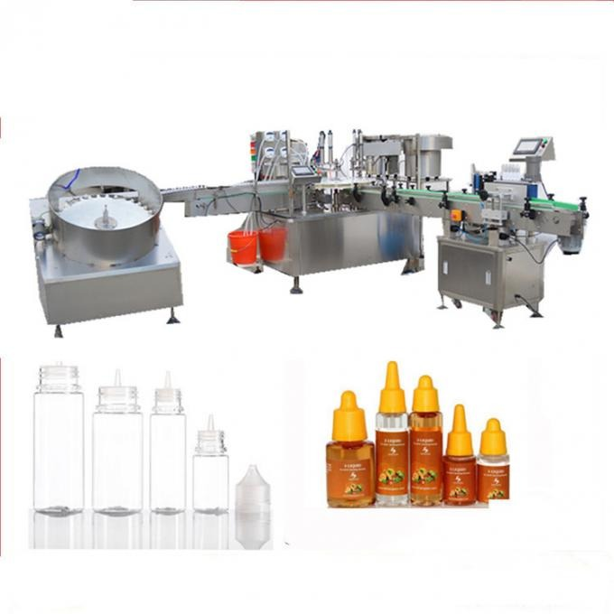 High Speed Electronic Liquid Filling Machine
