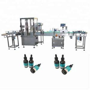 Min Essential Oil Filling Machine For 30ml Glass Bottle