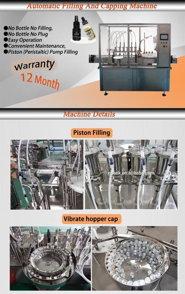High Speed Automatic Monoblock Rotary Eye Drop Liquid Filling Machine