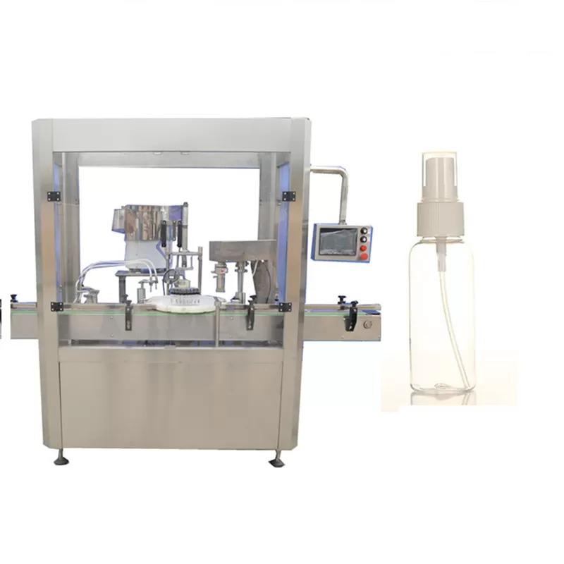 PLC Control Automatic Bottle Filling Machine