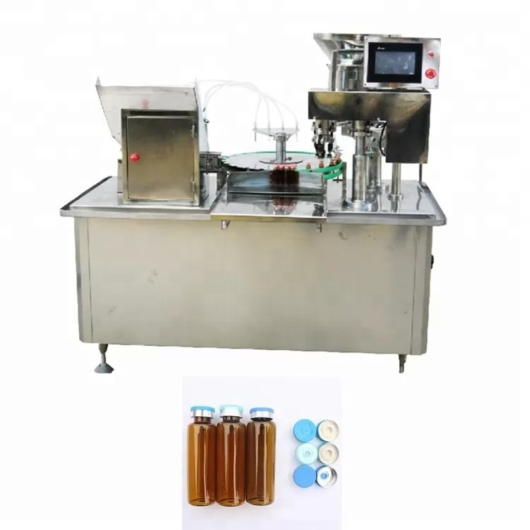 PLC Control Automatic Water Bottle Filling Machine For Production Line