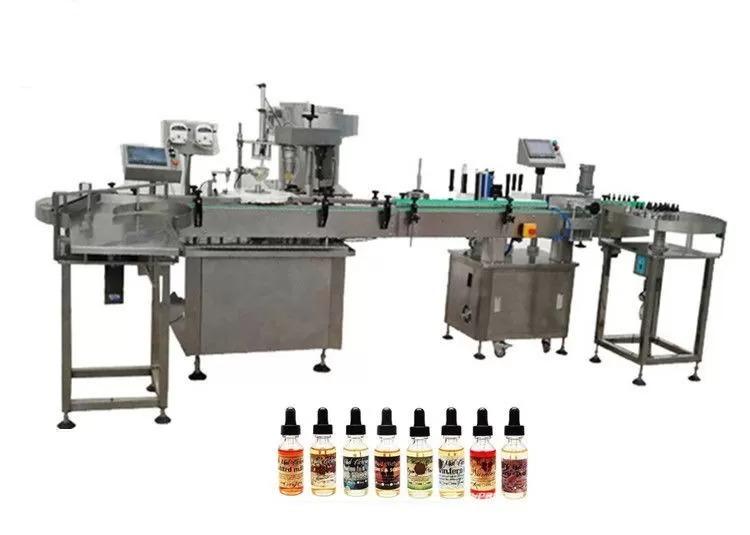 PLC Control Electronic Liquid Filling Machine For Glass Dropper