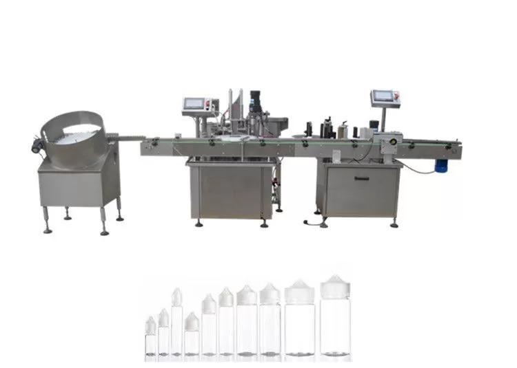 PLC Control Electronic Liquid Filling Machine