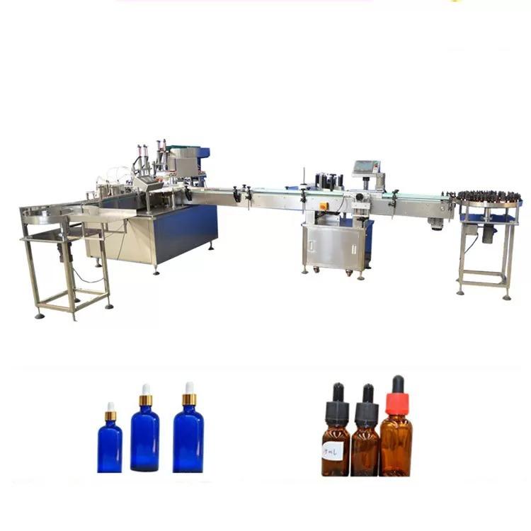 PLC Control Essential Oil Bottle Filling Machine