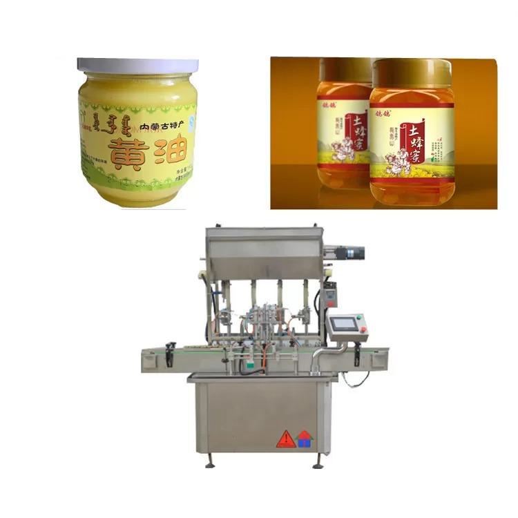 PLC Control Sauce Paste Bottle Filling Machine