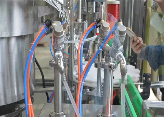 PLC Control System Perfume Filling Machine