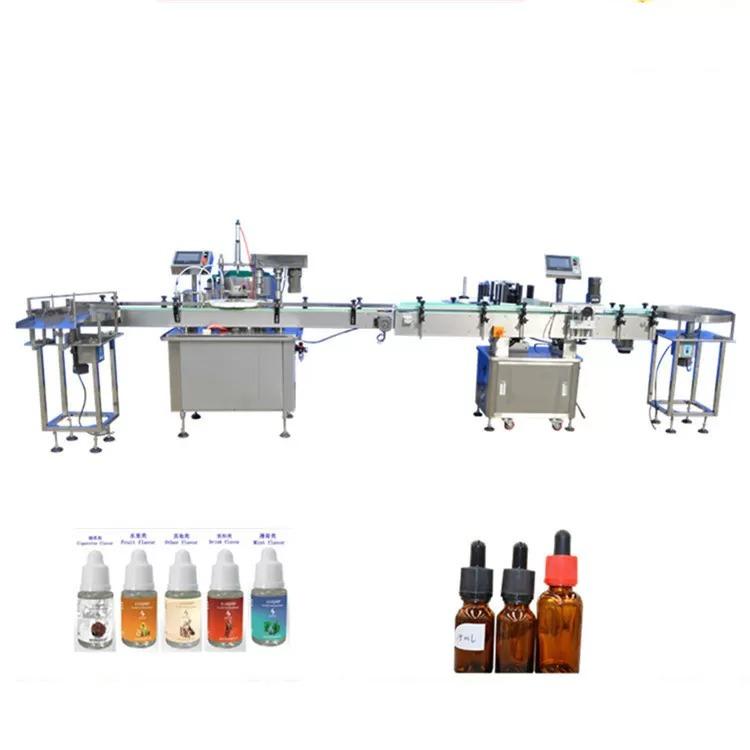 Perfume Filling Machine For Dropper Glass Bottles