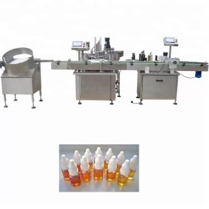 Peristaltic Pump Essential Oil Filling Machine