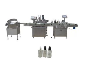 Peristaltic Pump Filling Capping Labeling Machines