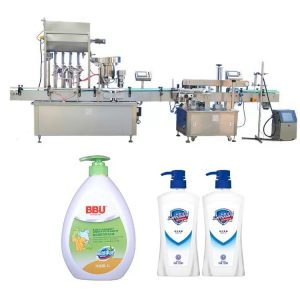 Pharmaceuticals Industries Jam Bottle Filling Machine