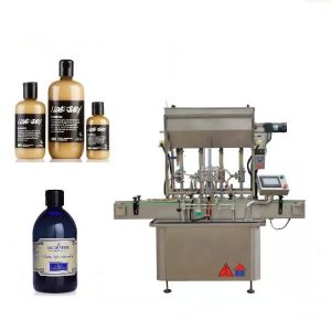Pneumatic Driven 4 Head Liquid Filling Machine For Honey