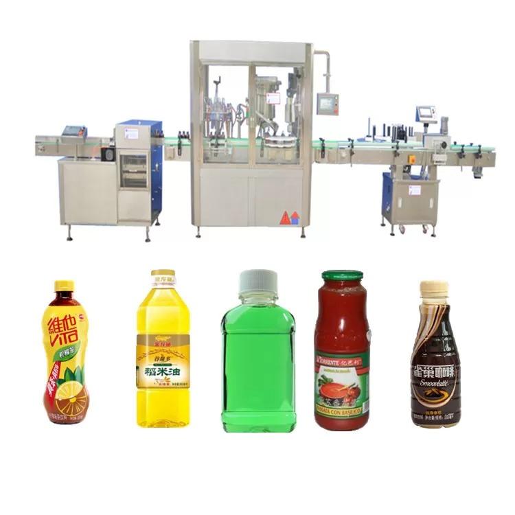 Pneumatic Driven Juice Filling Machine