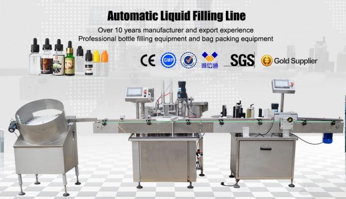 Pump Liquid Filling Machine