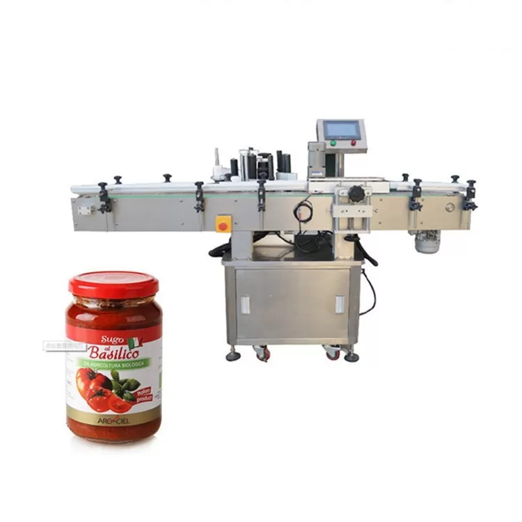 Round Bottles Product Labeling Machine