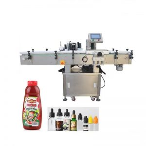Round Products Packaging And Labeling Machine