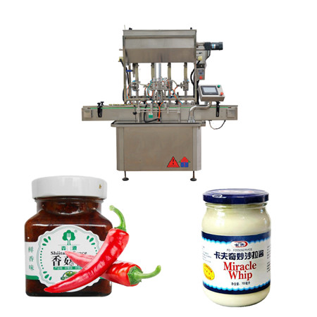 Sauce Paste Filling Machine