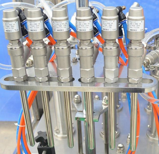Screw Capping Head Automatic Liquid Filling Machine